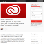 Finger weg von der Adobe Creative Cloud – Lightroom CC