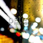 Bokeh mit Regen