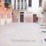 Original - Venedig Foto eines Platzes