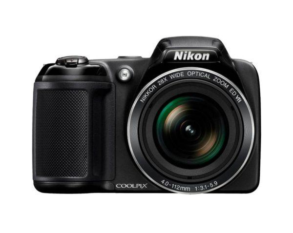 Nikon Coolpix L340 Digitalkamera (28-fach opt. Zoom, 22,5-630mm kleinbildäquivalent)