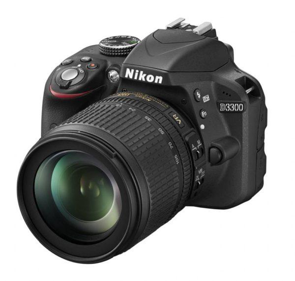 Nikon D3300 mit 18-105mm Kitobjektiv