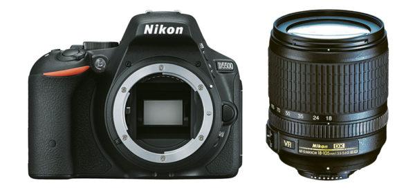 Nikon D5500 Einsteiger Spiegelreflexkamera