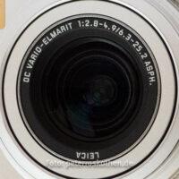 Objektiv einer digitalen Kompaktkamera