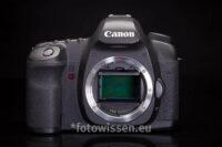 Der Sensor einer digitalen Spiegelreflex Kamera - Vollformatsensor