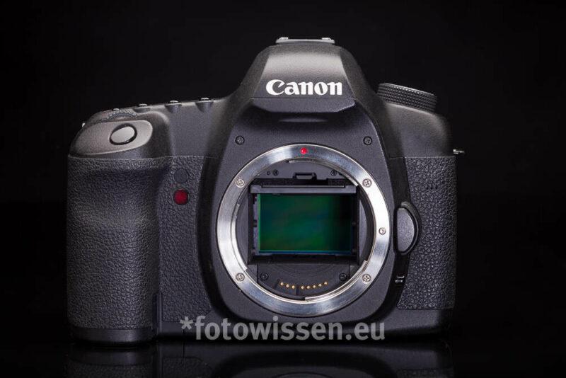 Der Sensor einer digitalen Spiegelreflex Kamera - Vollformatsensor - Crop Faktor