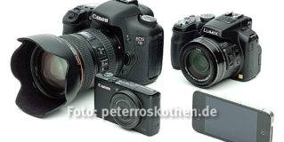 Wie viele Megapixel muss meine Digitalkamera haben?