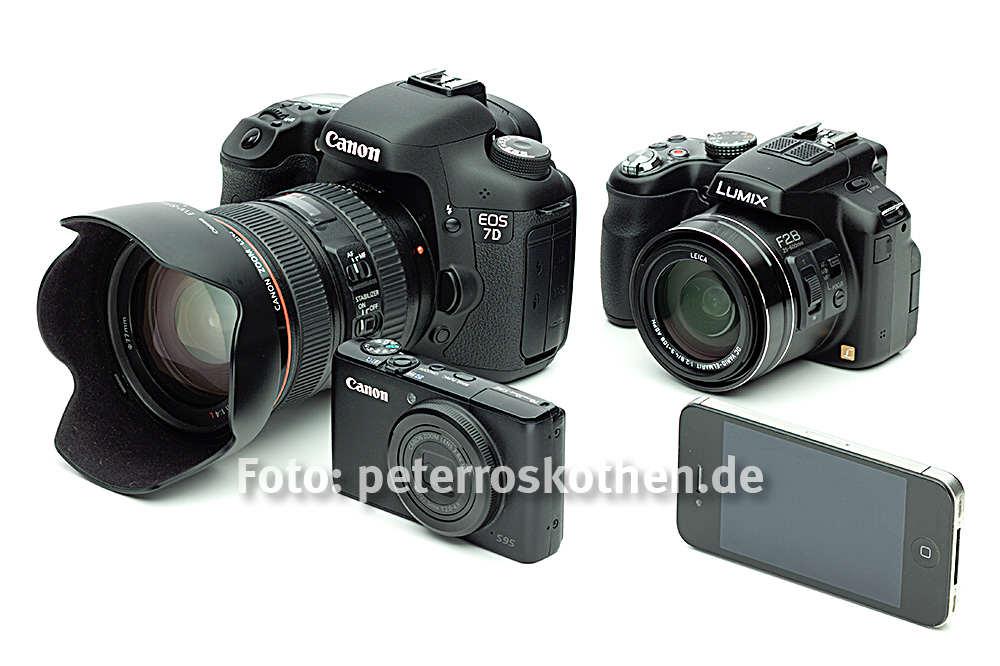 Fotokurs für Einsteiger - egal welche Kamera: Nikon, Sony, Pentax, Panasonic, Olympus, Fuji, Canon, iPhone