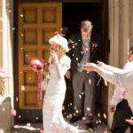 Hochzeitsfoto in Farbe