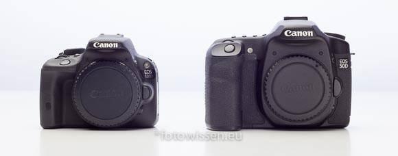Vergleich EOS 50D mit EOS 100D