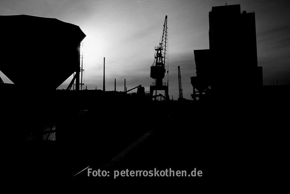 Industriefotos Duisburg Hafen