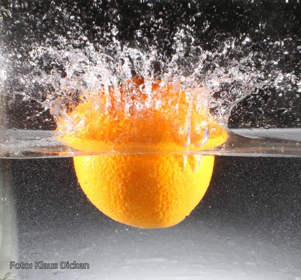 Splash! … Fotoshooting Im Wohnzimmer