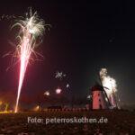 Silvester Feuerwerk in Nettetal Hinsbeck
