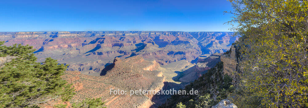 HDR Panorama Grand Canyon USA