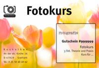 Gutschein Fotokurs Makrofotografie