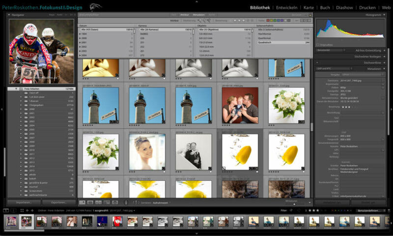 Quadratische Bilder in Lightroom