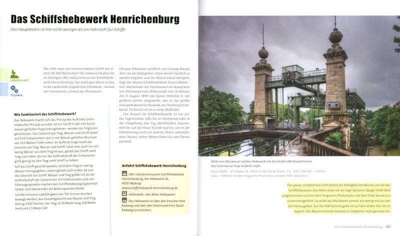 Fotografieren im Ruhrgebiet Seite 124-125: LWL-Industriemuseum Schiffshebewerk Henrichenburg