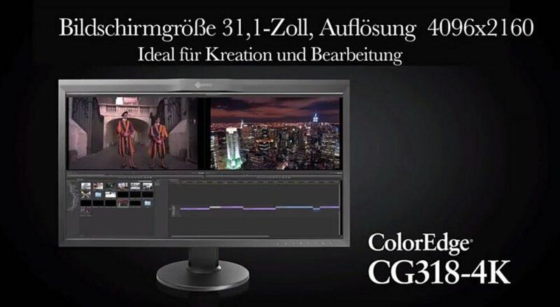 EIZO 4K Monitore für Fotografen - CG318-4K ColorEdge