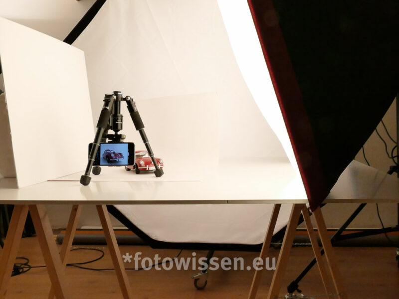 iPhone, iPhone Fotokurs, Making-Off, Produktfoto, Studio