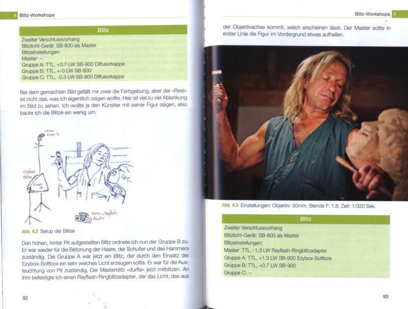 Richtig blitzen mit dem Systemblitz mitp Verlag - Buchrezen