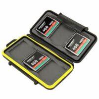 Wasserdichte Multi Memory Card Case MC-CF6 Speicherkarten Schutzbox für 6 Stück CF Cards