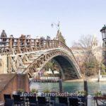 Accademia Brücke (ital. Ponte dell`Accademia)
