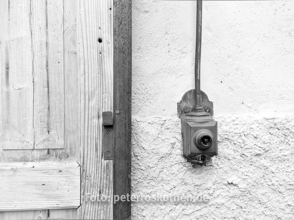 Schwarz Weiß Sehen, sw-Foto
