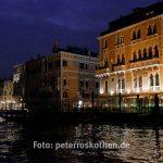 Venedig bei Nacht vom Canal Grande