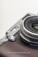 Retrolook einer modernen digitalen Kamera