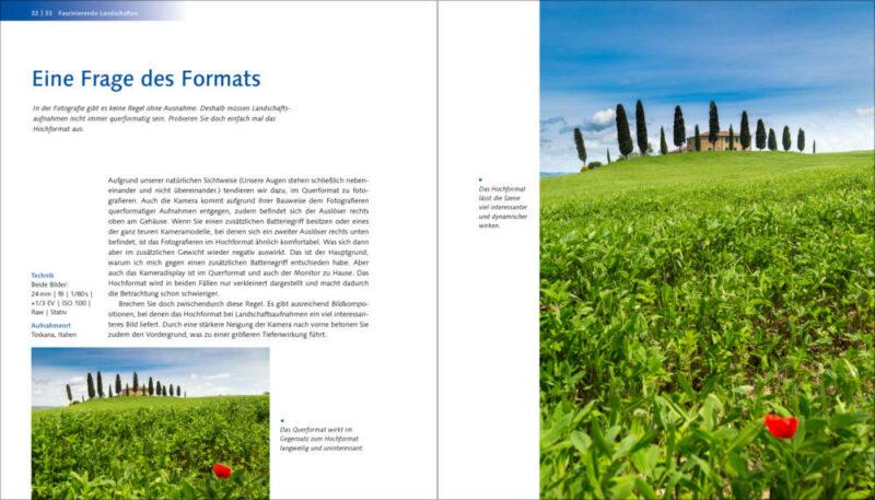 Fotovergleich Querformat und Hochformat - Welches Format eignet sich besser?