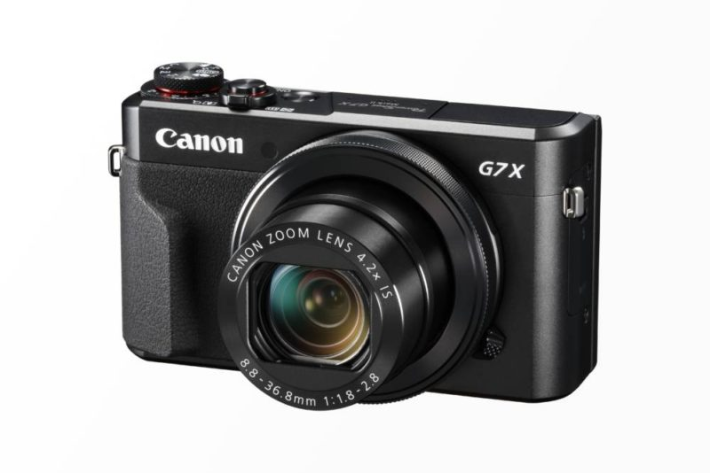 Powershot G7X Mark II - Model 2016