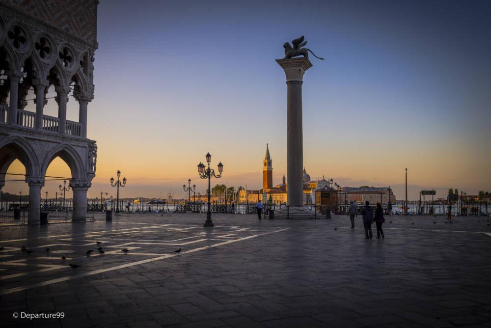 Venedig - Ein Sonnenaufgang im Juli