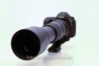 Canon EOS 5D Mark IV mit Tamron SP 150 – 600 mm F/5-6.3 Di VC USD
