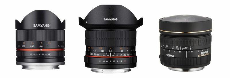 Objektive für Panoramafotos