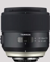 Tamfon SP 35mm F/1.8 Di VC USD - Tamron auf der Photokina 2016