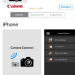 Canon Camera Connect App - Fernsteuerung für die Canon Kamera