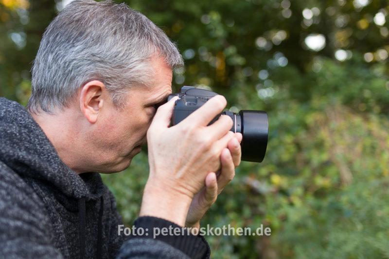 Knipsen und Fotografieren – Fotos mit dem Kamerasucher