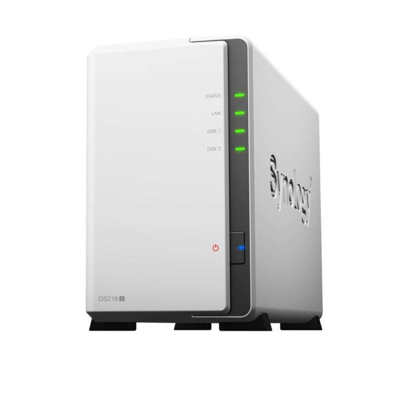 Synology DS216j 2-Bay Desktop NAS-Gehäuse - Fotos sichern auf dem NAS-Server