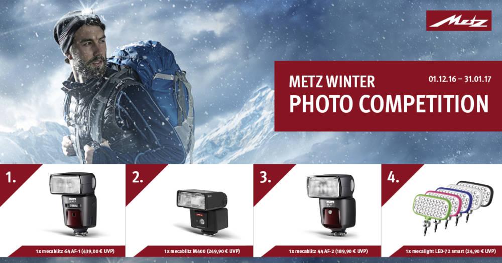 Metz Fotowettbewerb im Winter - Winterfotogewinnspiel 2016