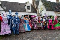Venezianischer Karneval in Brügge