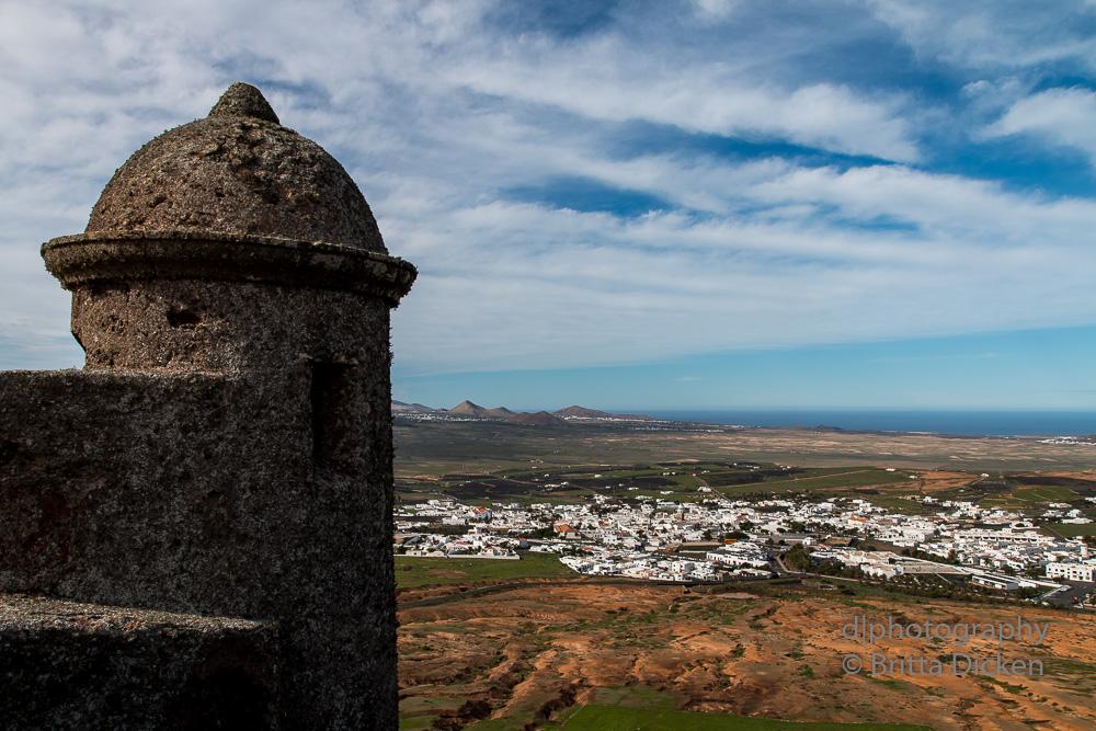 Castillo de Santa Bárbara - Lanzarote
