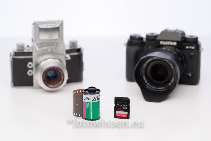 Analoge Fotografie versus Digitale Fotografie