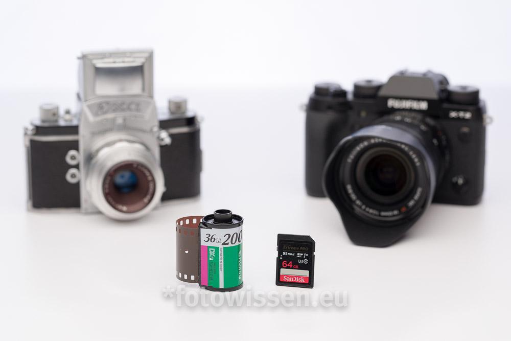 Analog oder Digital Fotografieren? Digitale Fotografie versus Analoge Fotografie