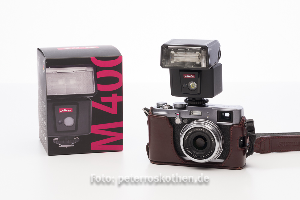Metz mecablitz M400 - Kompakter Blitz - Test