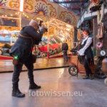 Steampunk posiert für Fotojournalist Klaus Dicken