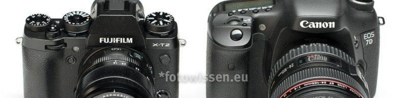 Unterschiede Canon und Fujifilm