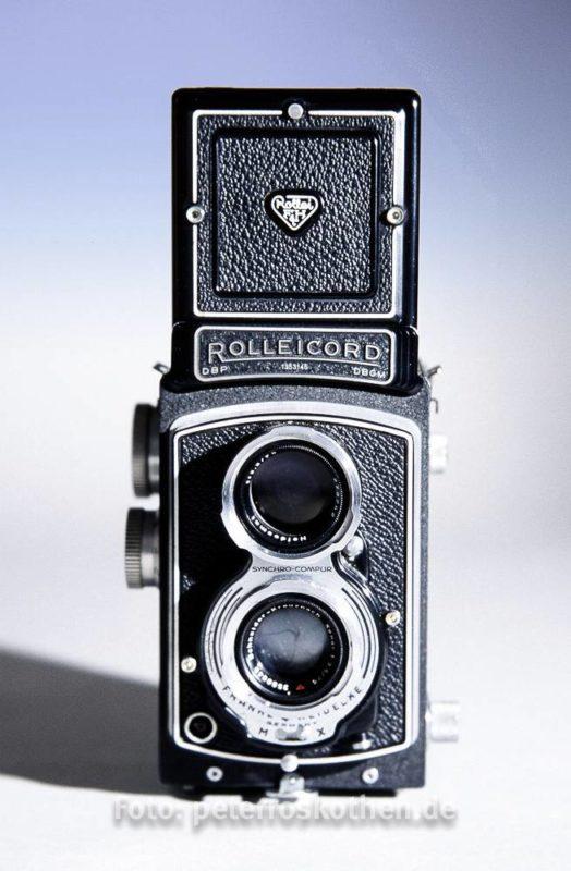 Mittelformat Kamera Rolleicord 6x6
