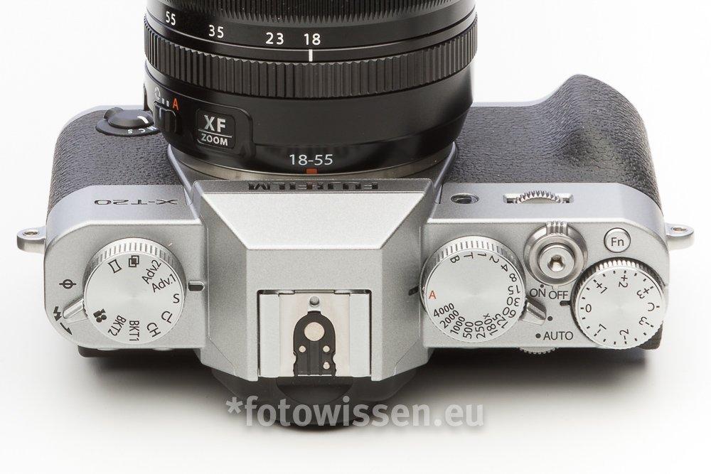 Bedienung der Fujifilm X-T20 - einfach und intuitiv