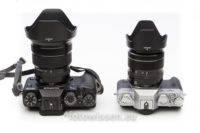 Vergleich X-T2 (links) und Fujifilm X-T20 (rechts)