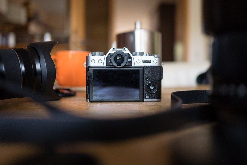 Fujifilm X-T20 Rückseite - Foto: Stefan M.