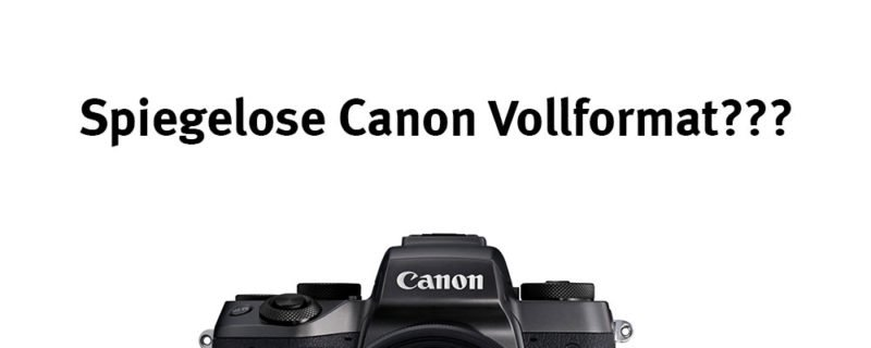 Spiegellose Canon Vollformatkamera – *Meinung